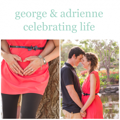 Sonja Griffioen Photography Brisbane Portrait Photographer | George & Adrienne celebrate life - pregnant, baby on the way, great news