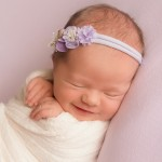 Newborn photography Brisbane, Brisbane newborn photos, baby girl smiling