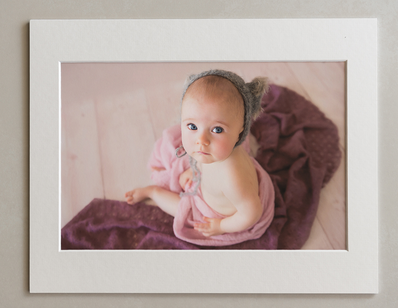 Fine art mounts, printed products, print your photos, wall art, printed photography, baby photography, professional prints